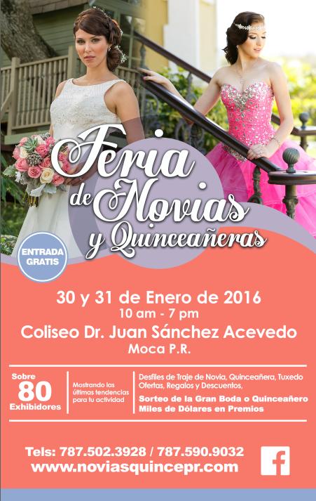 Feria de Novias y Quinceañeras 2016