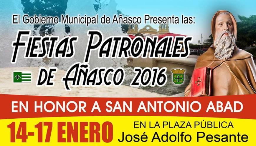Fiestas Patronales de Añasco 2016