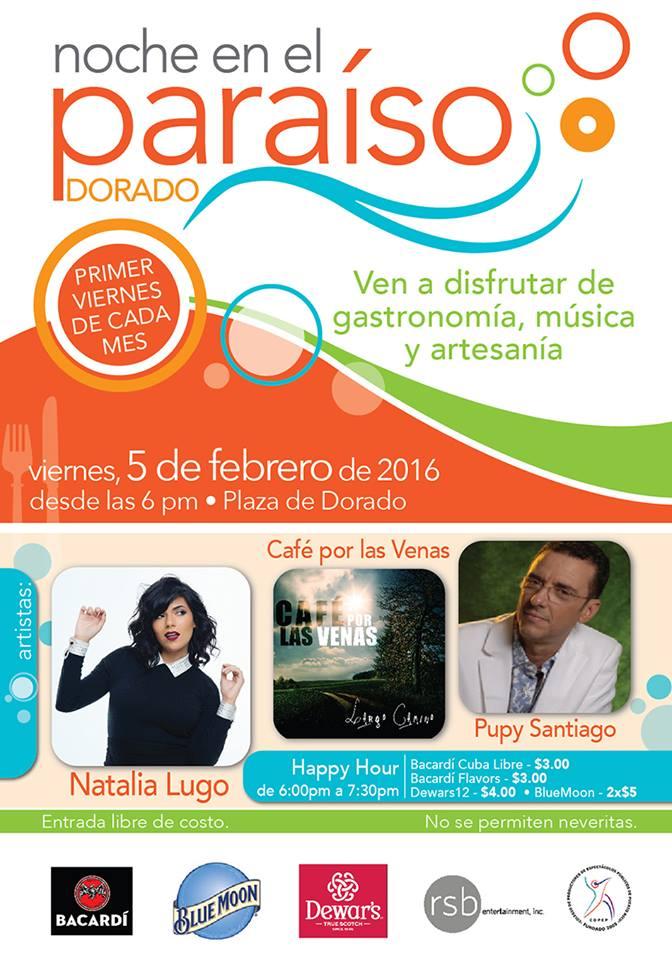Noche en el Paraíso Dorado: Enero 2016