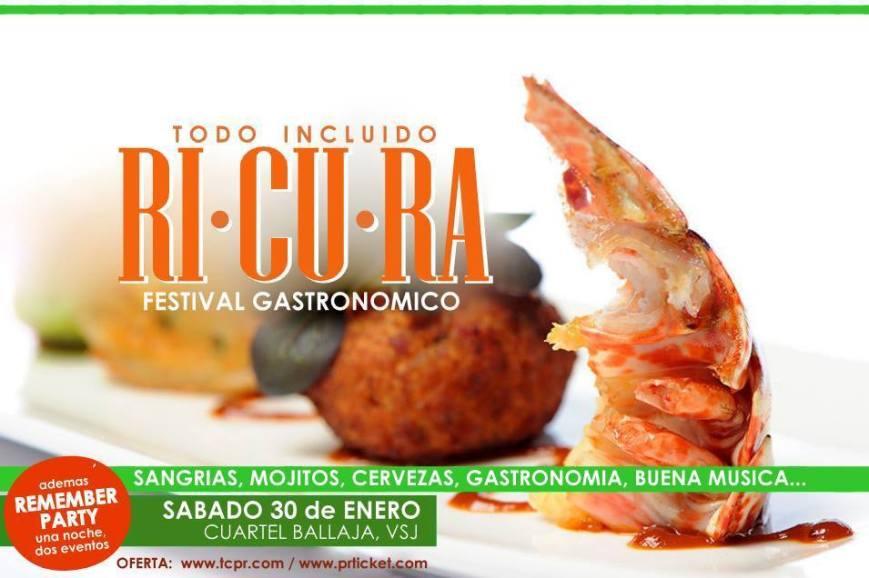 Ricura - Festival Gastronómico 2016