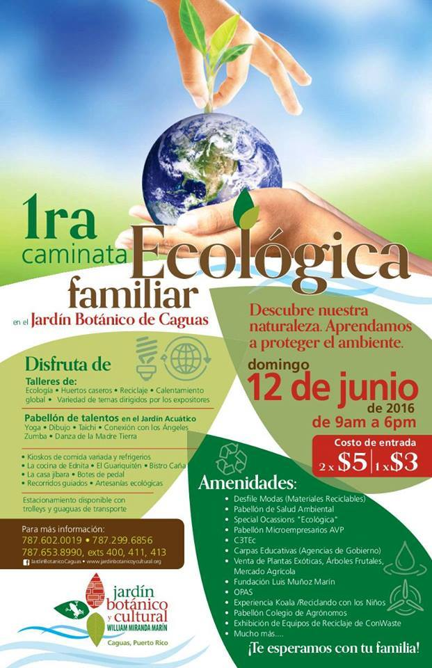 1era Caminata Ecologica Familiar