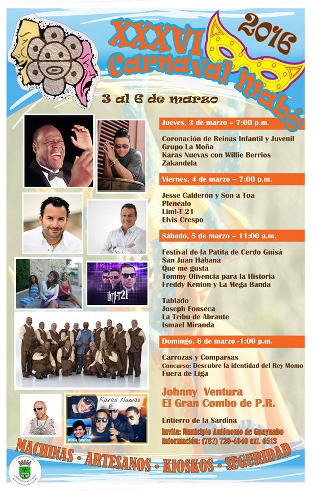 Carnaval Mabó 2016