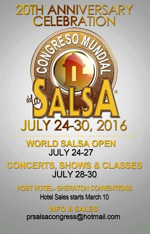 Congreso Mundial de la Salsa 2016