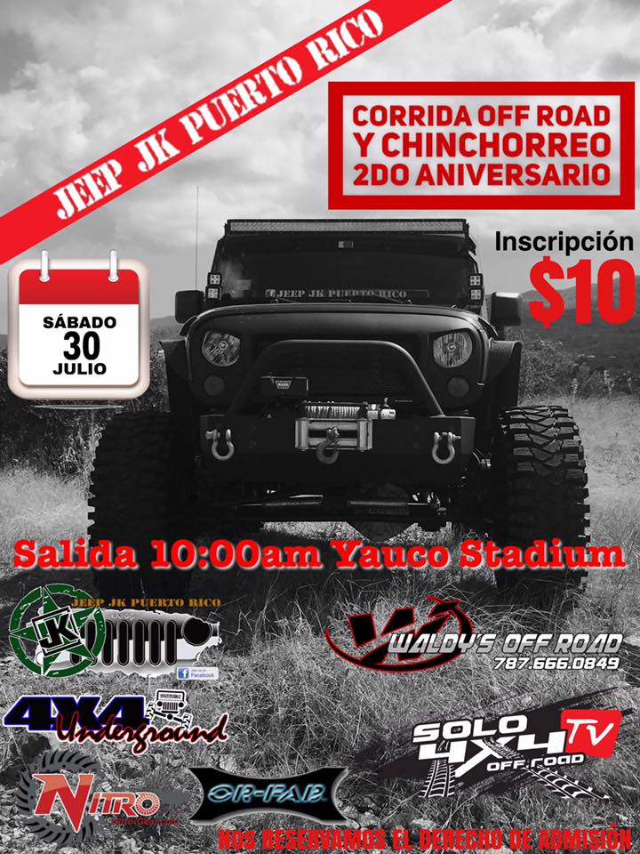 Corrida Off Road y Chinchorreo 2016