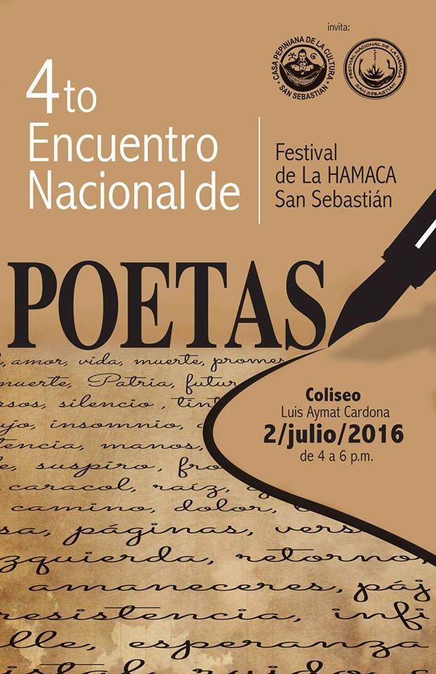Encuentro Nacional de Poetas 2016