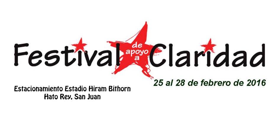 Festival de Apoyo a Claridad 2016
