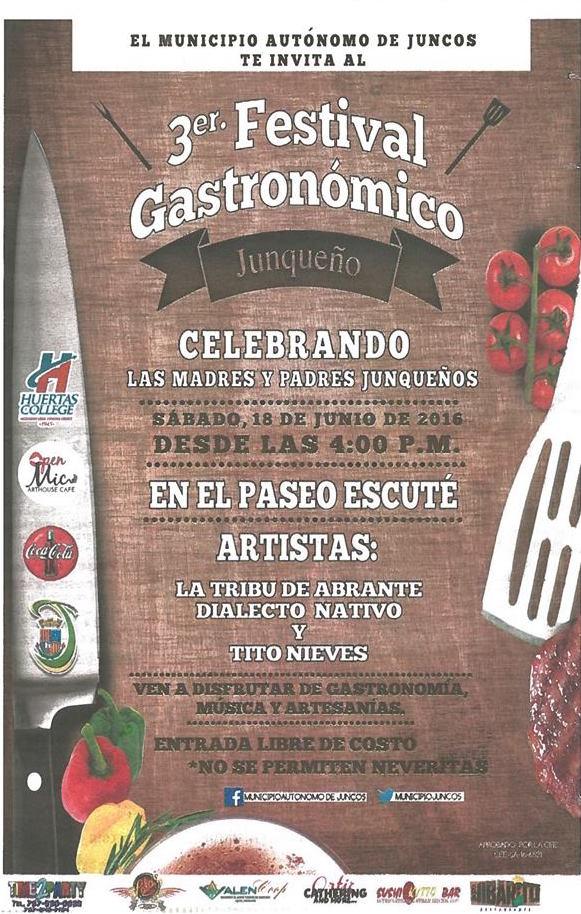 Festival Gastronómico Junqueño 2016