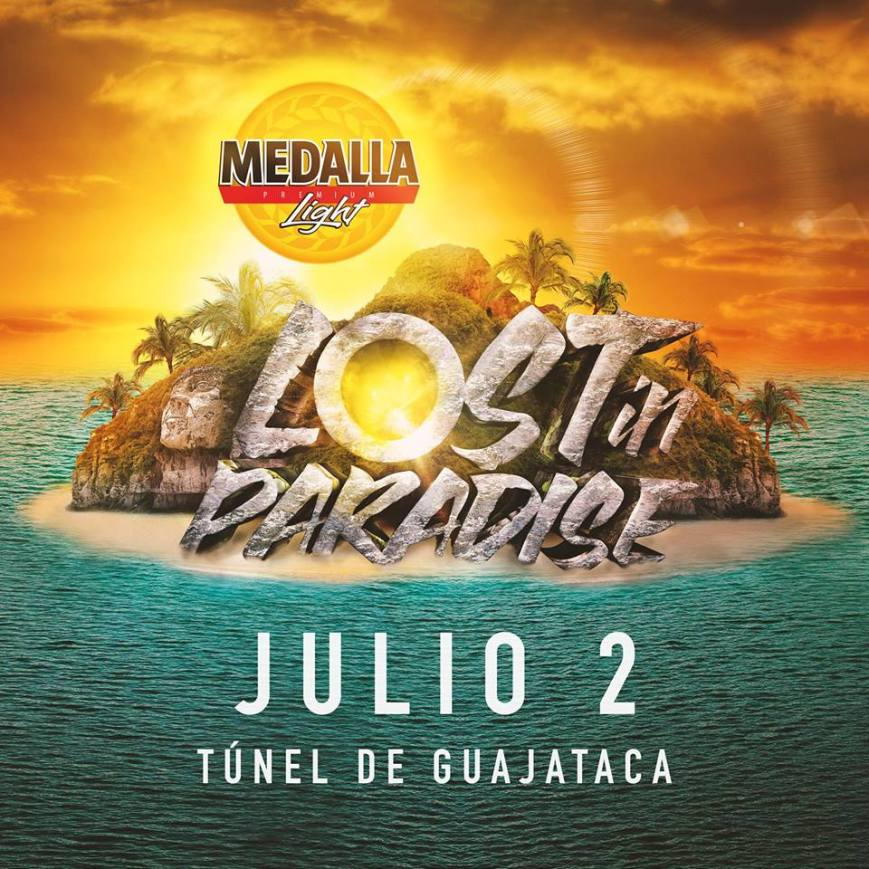 Medalla Light- Lost in Paradise