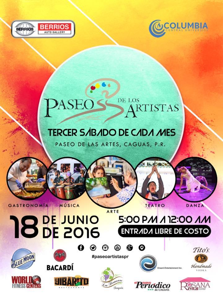 Paseo de los Artistas- Junio 2016