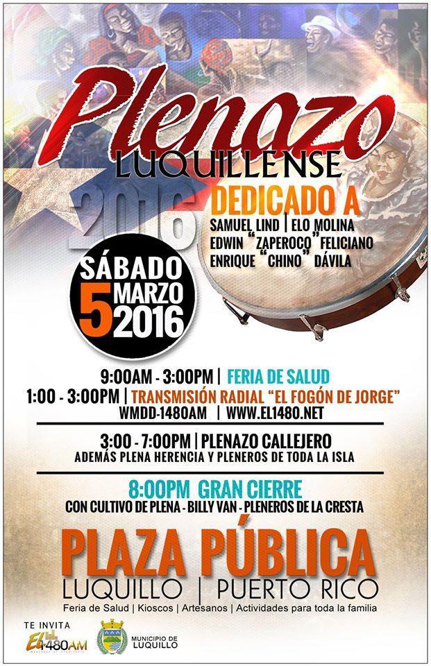 Plenazo Luquillense 2016