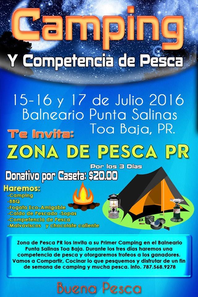 Primer Camping Zona de Pesca PR