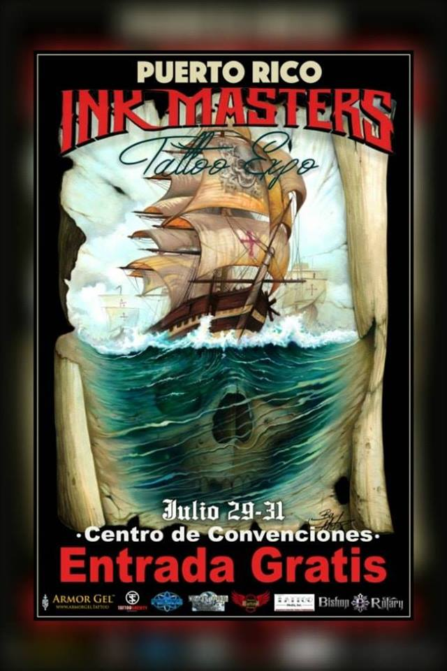 Puerto Rico Ink Masters Tattoo Expo