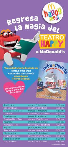 Regresa la Magia del Teatro Happy