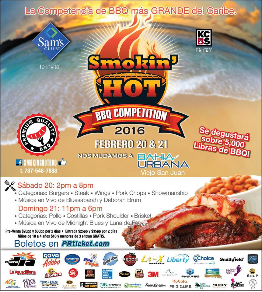 Smokin' Hot BBQ Competition Puerto Rico 2016