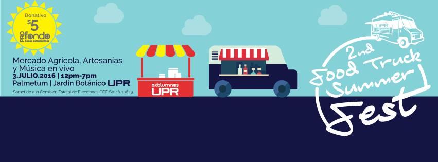 UPR Food Truck Summer Fest 2016