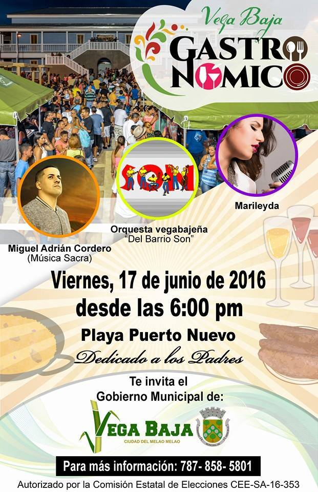 Vega Baja Gastronómico Junio 2016