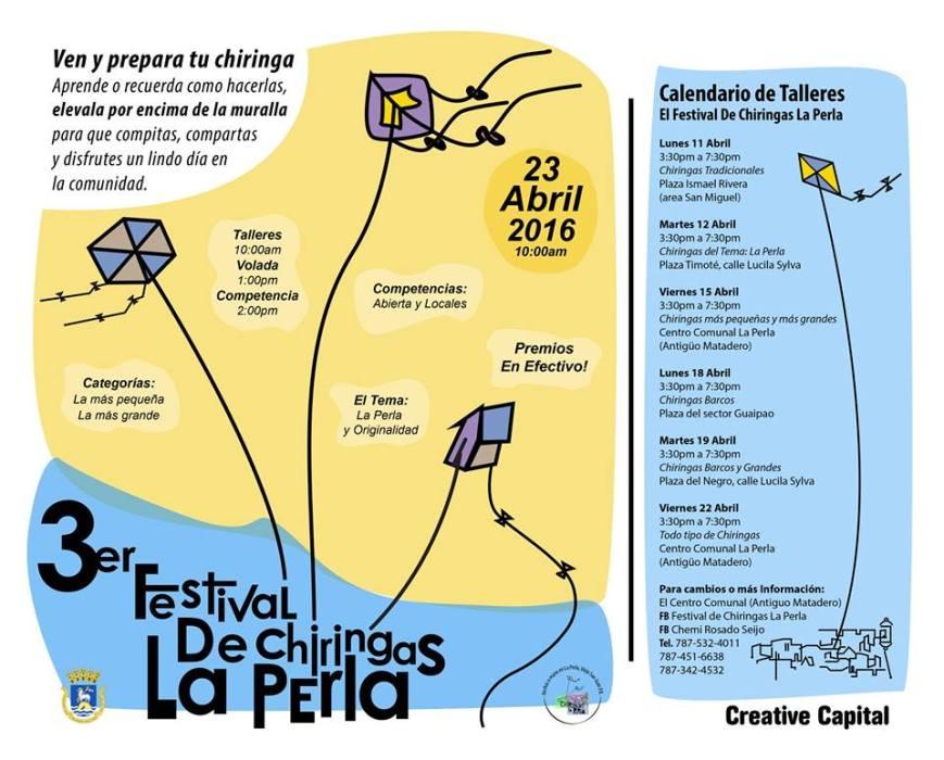 Festival de Chiringas La Perla 2016