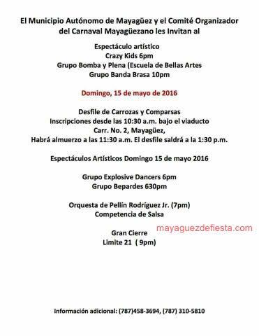 Carnaval Mayagüezano 2016 2