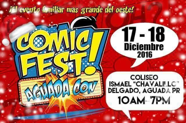 ComicFest AguadaCon 2016