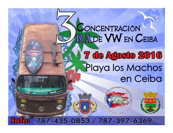 Concentración de VW en Ceiba 2016