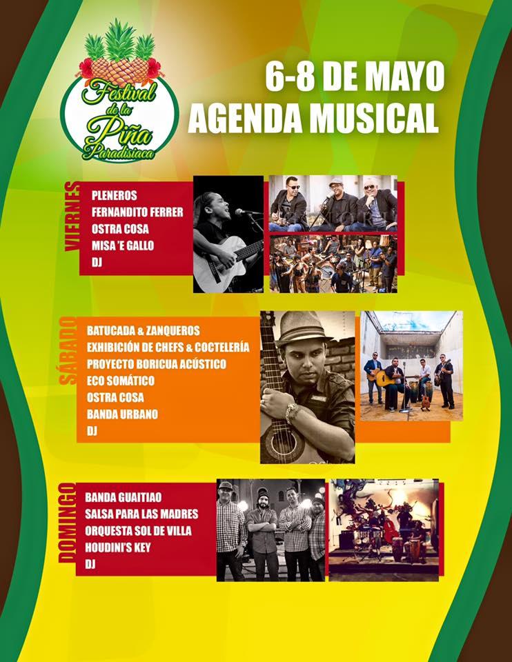 Festival de la Piña 2016 atras