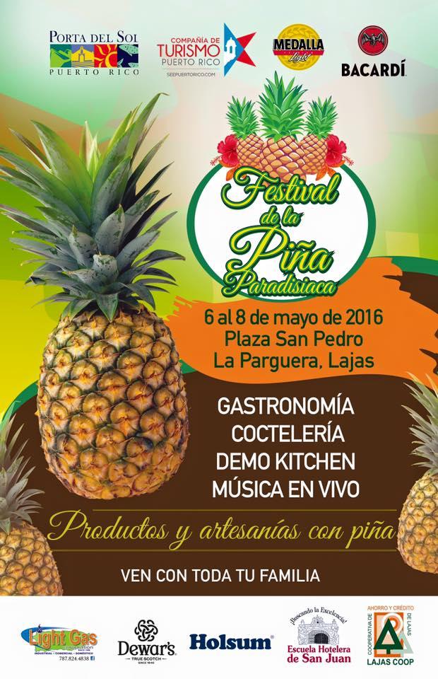 Festival de la Piña 2016 frente