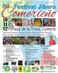 Calendario Artístico Festival Jíbaro Comerieño 2016