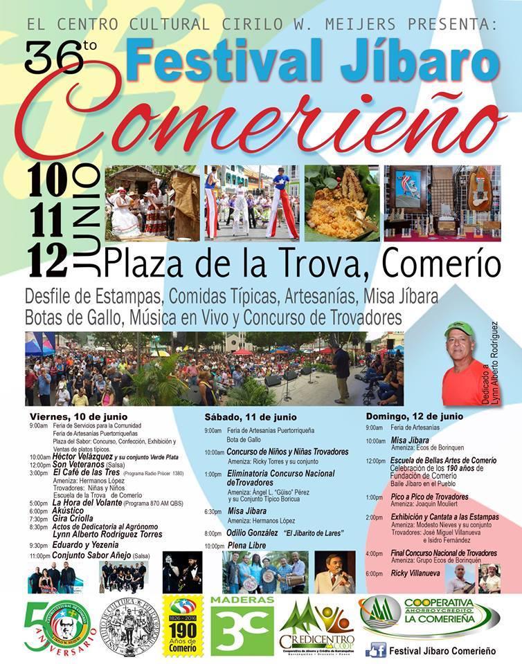 Festival Jíbaro Comerieño 2016 2