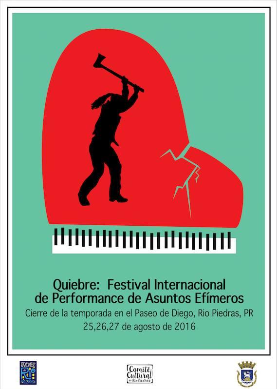 Quiebre- Festival Internacional de Performance de Asuntos Efímeros