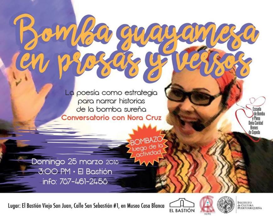 Bomba Guayamesa en Prosas y Versos