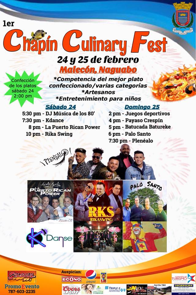 Chapin Culinary Fest 2018