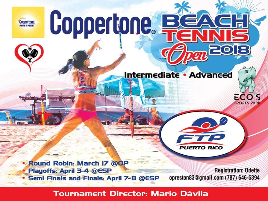 Coppertone Beach Tennis Open 2018