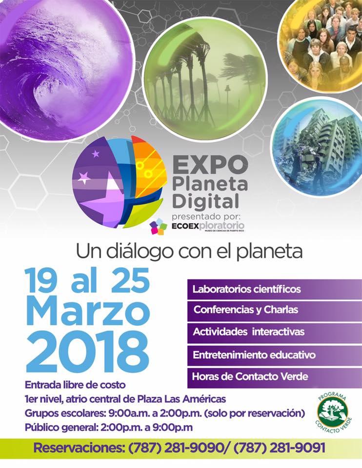 Expo Planeta Digital- Diálogo con el Planeta