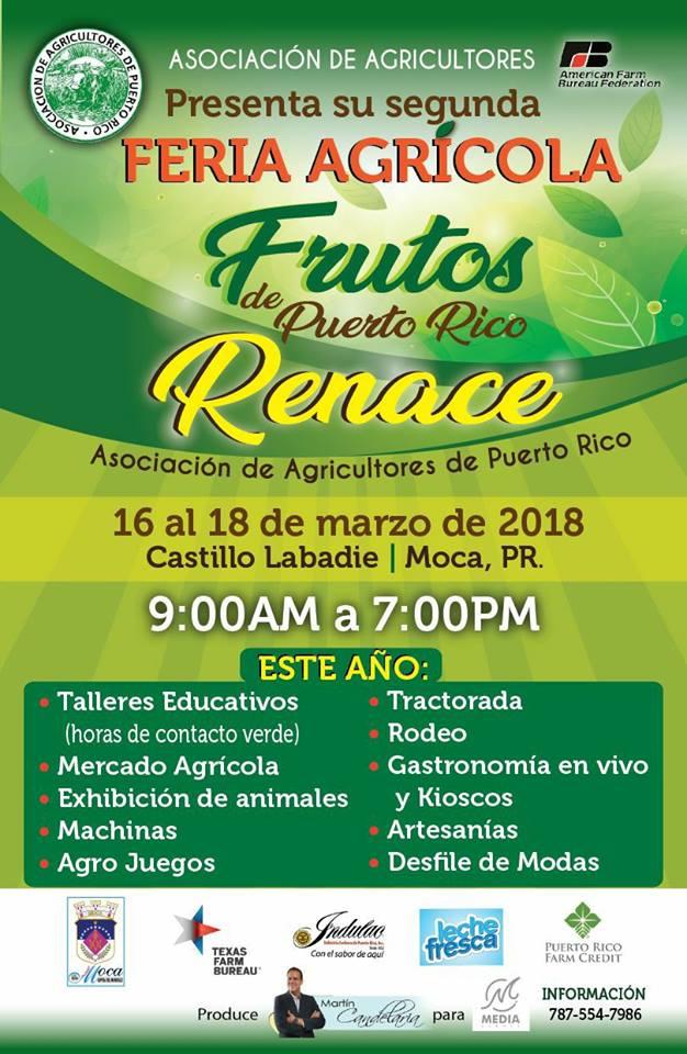 Feria Agrícola Frutos de Puerto Rico Renace