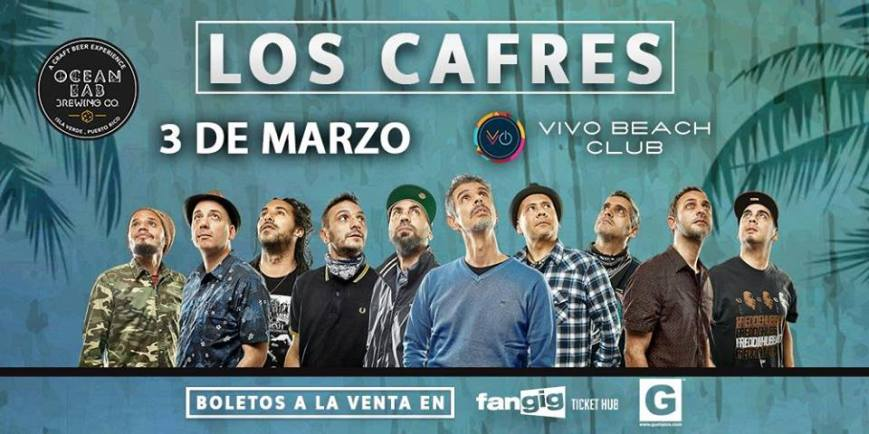 Los Cafres @ Vivo Beach Club