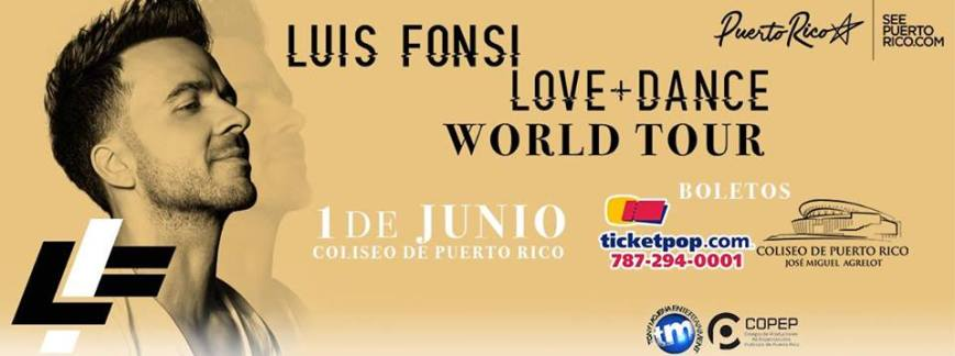 Luis Fonsi- Love + Dance World Tour
