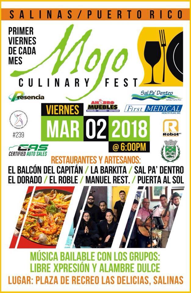 Mojo Culinary Fest Marzo 2018