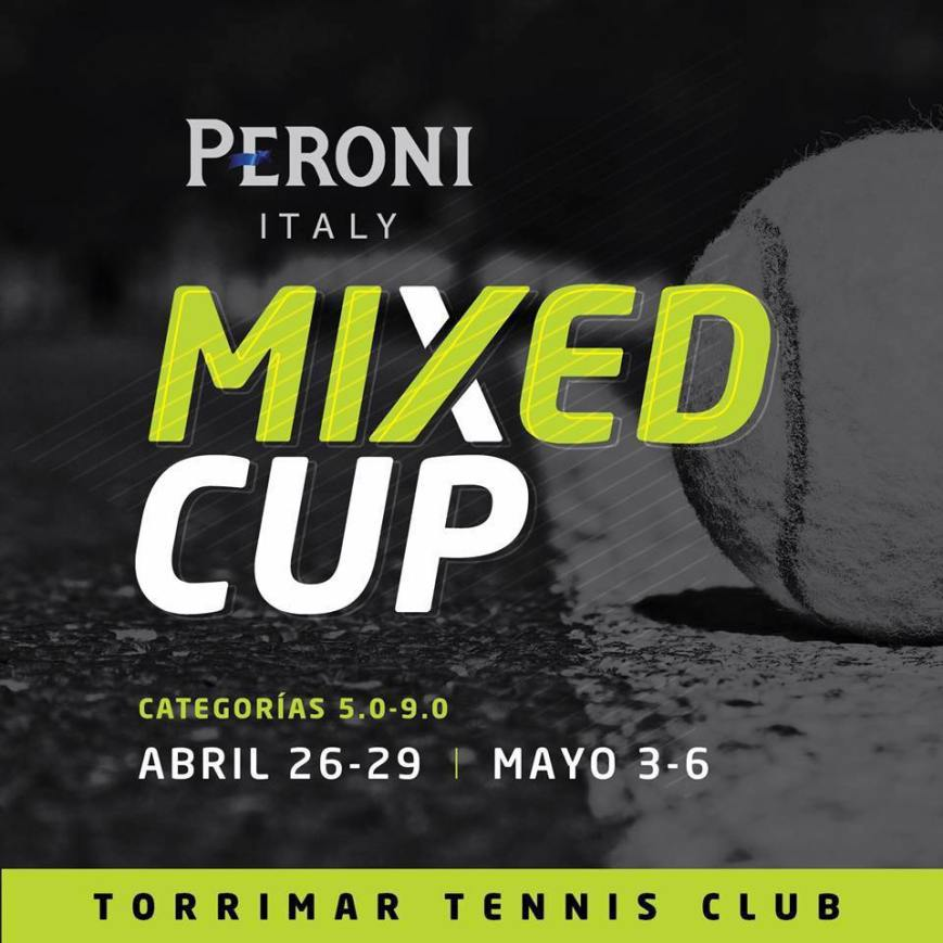 Peroni Mixed Cup