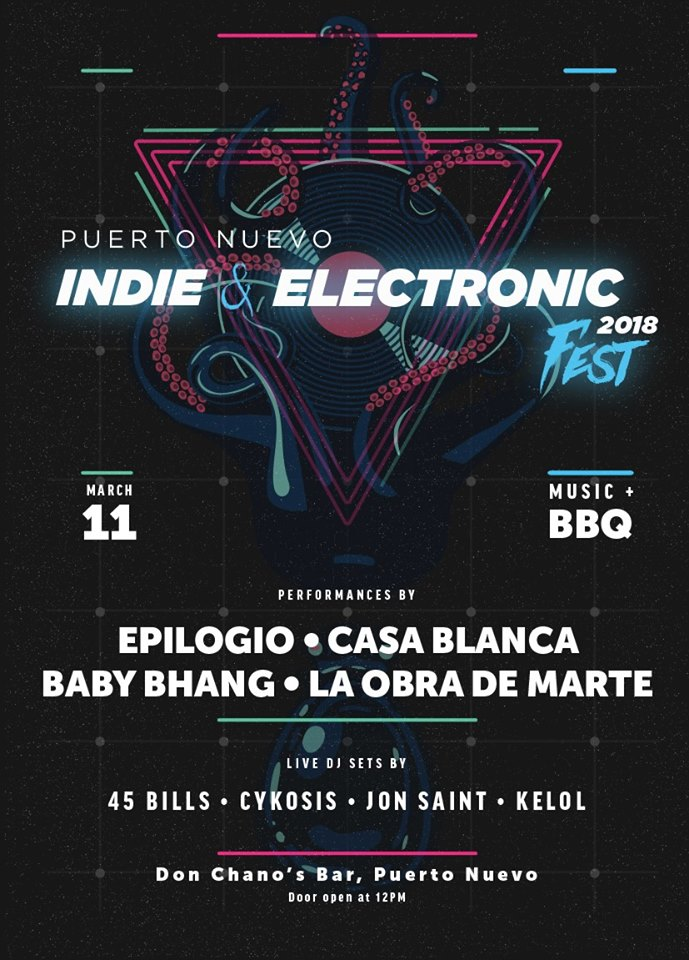 Puerto Nuevo Indie Rock & Electronic Fest 2018