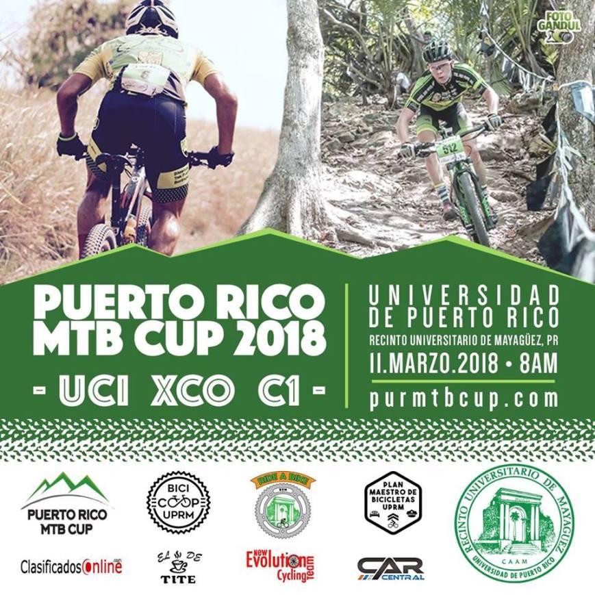 Puerto Rico MTB Cup 2018 + UCI Junior Series XCO