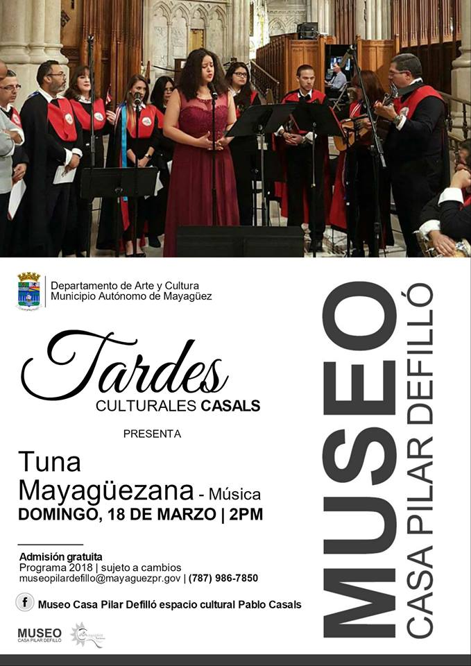 Tardes Culturales Casals @ Mayagüez