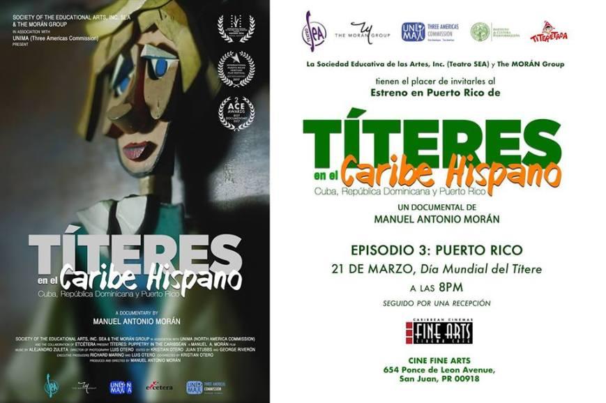 Títeres en el Caribe Hispano, Episodio 3- Puerto Rico