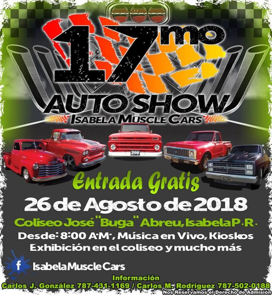Auto Show de Isabela Muscle Cars 2018